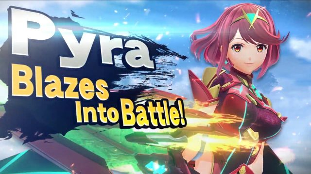 Pyra Super Smash Bros