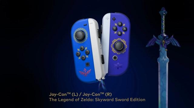 The Legend of Zelda: Skyward Sword HD Joy-Cons