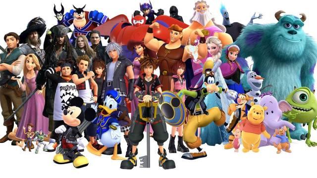 Kingdom Hearts III Game Visual