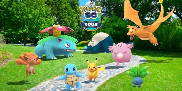 Pokemon Go Tour Kanto TOP
