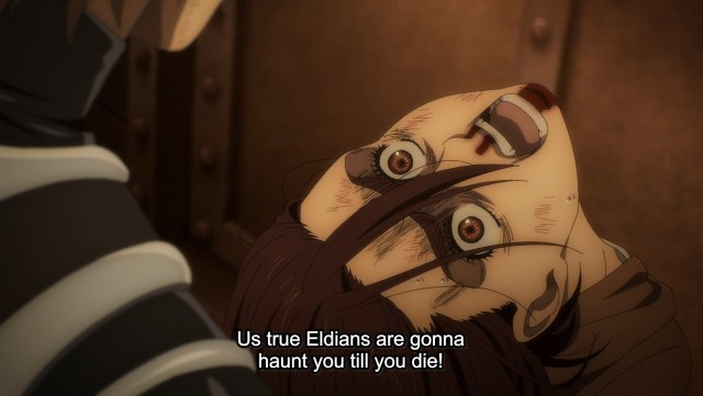 Screenshot from Attack on Titan: The Final Season episode 8
