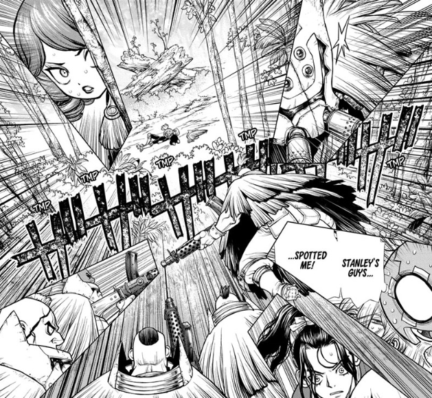 Screenshot from Dr. STONE Chapter 187