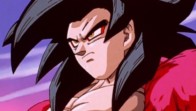 Super Saiyan 4 Goku - Dragon Ball GT