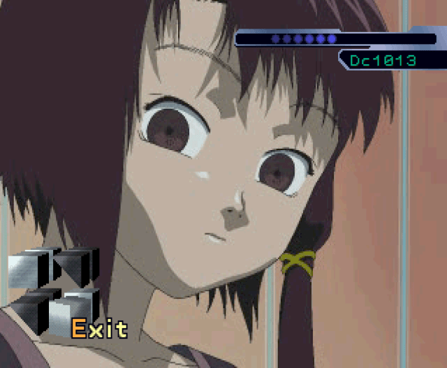 Serial Experiments Lain PS1 Game