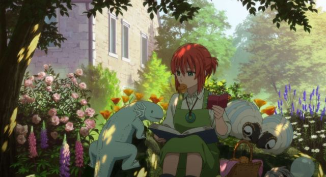 Chise from anime Ancient Magus Bride