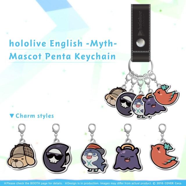 Hololive EN keychains