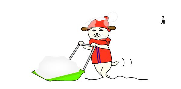 降り始め-雪解けまで。3