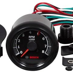 sport ii 2 5 8 quot tachometer black face fst 7906 otc tools new sun tachometer bosch tachometer wiring [ 2400 x 1285 Pixel ]
