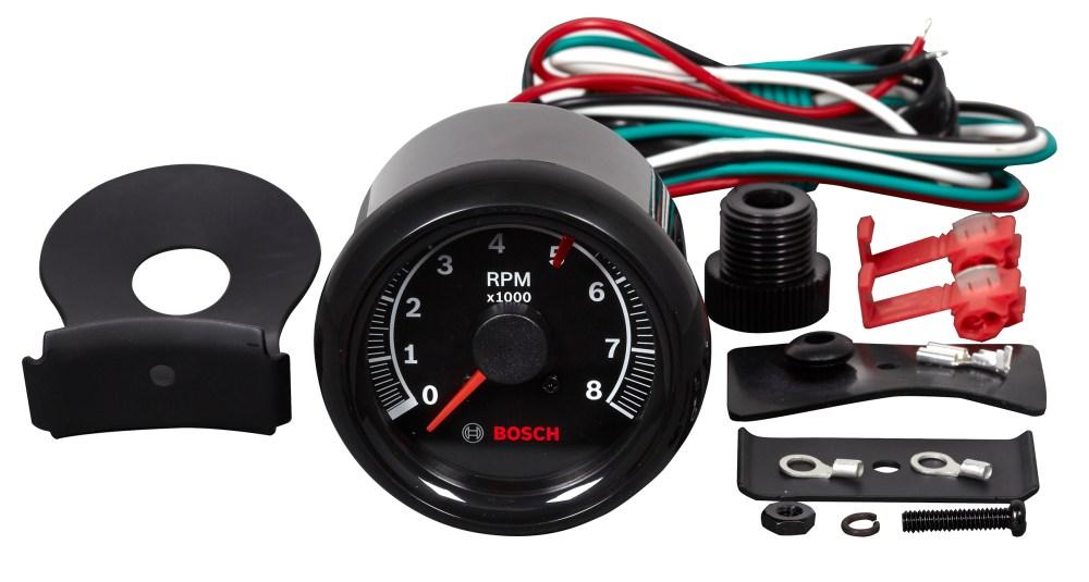 medium resolution of sport ii 2 5 8 quot tachometer black face fst 7906 otc tools new sun tachometer bosch tachometer wiring