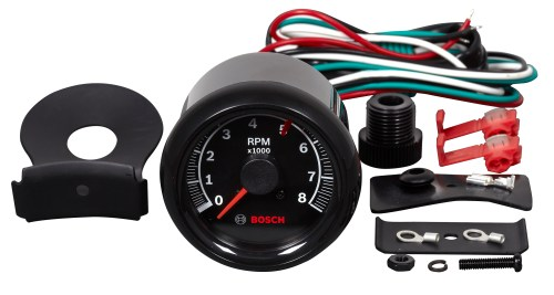 small resolution of sport ii 2 5 8 quot tachometer black face fst 7906 otc tools new sun tachometer bosch tachometer wiring