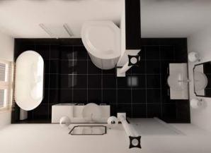 Фото ванных комнат сверху