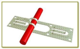 Монтажная лента для электротермокабеля системы ТЕПЛЫЙ ПОЛ