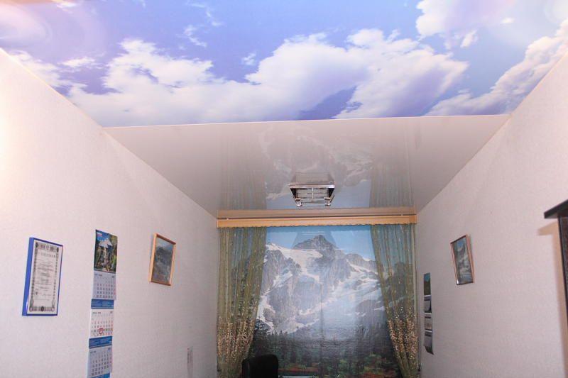 виды натяжного потолка