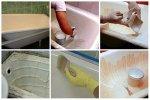 Способы реставрации старой ванны своими руками
