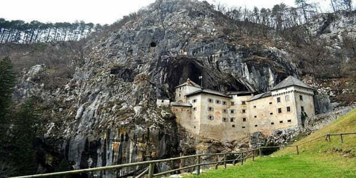Предямски замък в Словения.