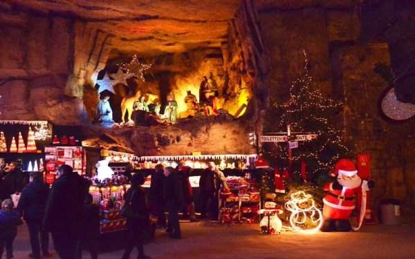 Коледни шопинг атракции на Валкенбург, Холандия
