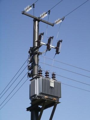 Pole Mounted Substations   Transformer platforms & Switchgear