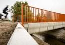 VNizozemsku otevřeli první cyklistický most vytištěný 3D tiskárnou