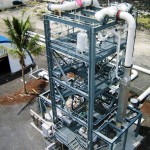OTEC Test Facility at NELHA, designed and operated by Makai Ocean Engineering