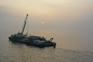 OTEC 1 MW gross plant at sea