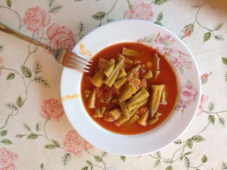 Tatil Yemekleri, Zeytinyağlı Bamya