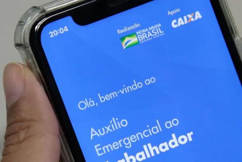 Aplicativo da Caixa para solicitar o auxílio emergencial