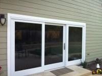 Marvin three panel clad sliding French door - OT Glass