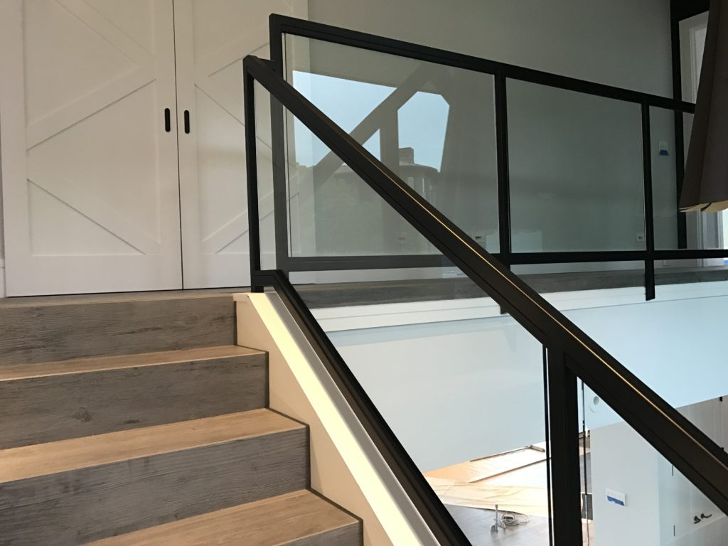Interior Glass Stair Railing • Ot Glass | Stairs Window Glass Design | Classic | Foreign Window | Simple | Stairwell | Grill