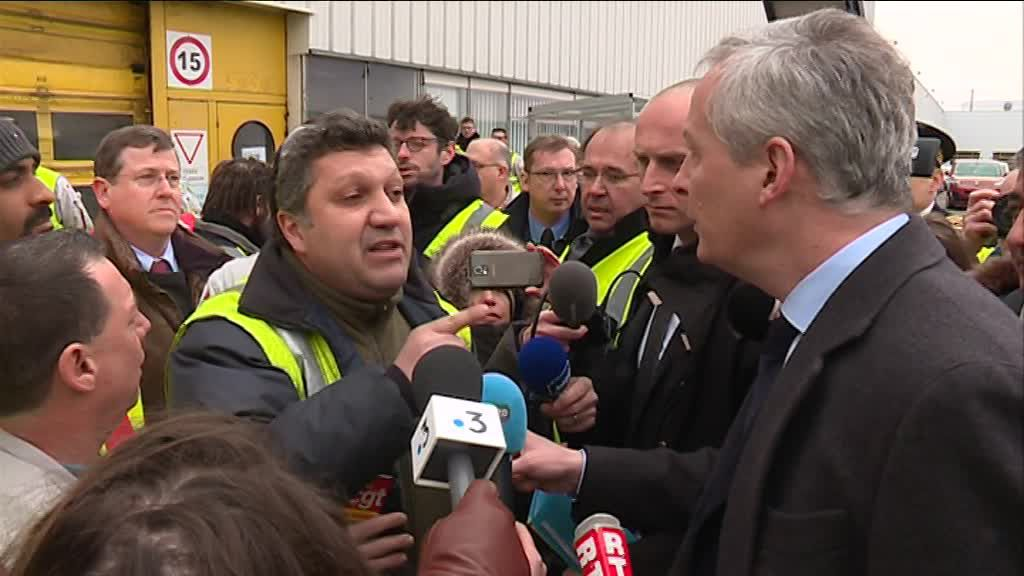 Bruno Le Maire PSA Ouvrier Syndicaliste polémique communication politique analyse