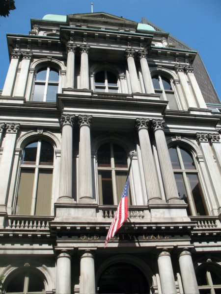 Adaptive reuse kept Old City Hall alive after the municipal offices moved to Government Center.