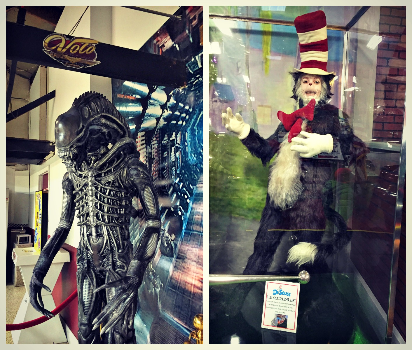 Volo Auto Museum Movie Props Predator Cat In The Hat O The Places