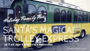 Santa's Magical Trolley Express Chicago
