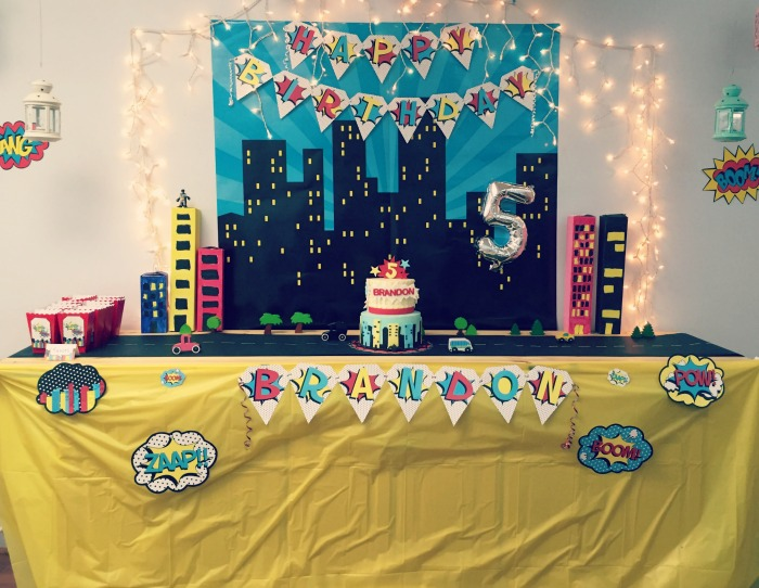 Odyssey Play Place: A most epic super hero birthday party