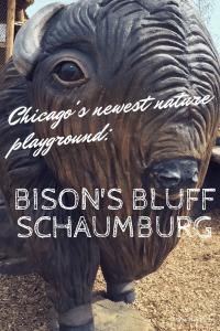 Chicagoland's newest nature playground Bison Bluff in Schaumburg