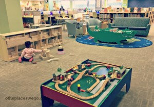 Dundee Library Kids Room