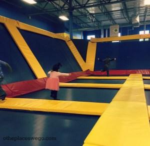 SkyHigh Naperville - Kids Jump area