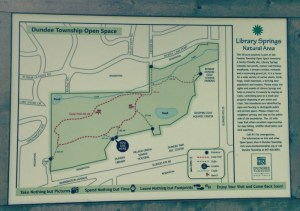 Wahoo Woods Dundee - Trail Map