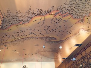 Sushi Grand - Ceiling Map