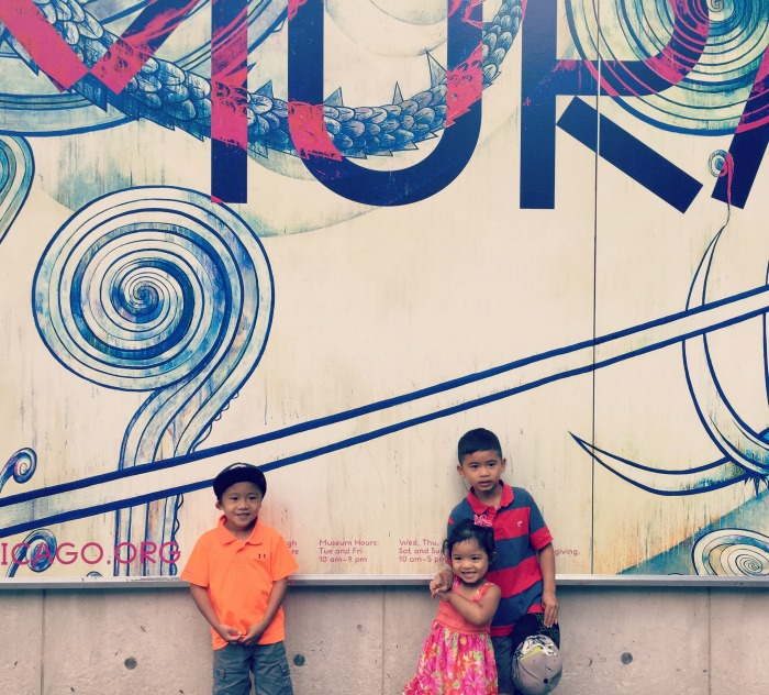 A Chicago Weekend Staycation: Birthday fun, Awesome Art, Shaped Pizzas, Friendly Fish