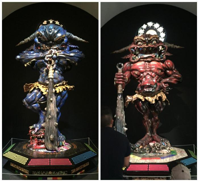 MCA Takashi Murakami - Protector Statues