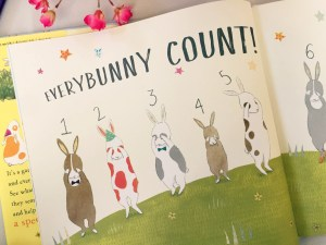 What's in our Easter Basket? Everybunny Counts by Ellie Sandall