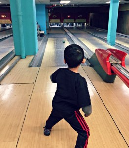 Family Fun in Indianapolis, Indiana including Atomic Duckpin Bowling.