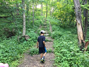 Family Fun in Dubuque, Iowa's oldest city, including a stop at Mines of Spain Recreation Area and the Julien Dubuque Monument.