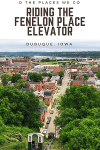 Family fun awaits in Dubuque, Iowa with a ride on the Fenelon Place Elevator, an incline with spectacular views of 3 states.