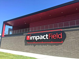 Family Fun at a Chicago Dogs baseball game at the new Impact Field in Rosemont.
