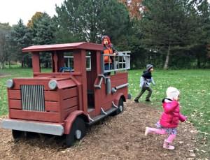Fall fun at Royal Oak Farm in Harvard, Illinois