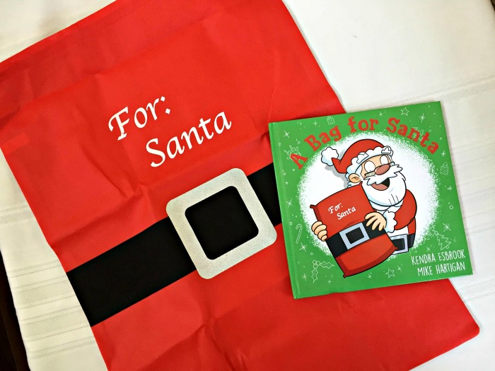 Holiday Book: A Bag for Santa, a Holiday Story that Teaches about Giving