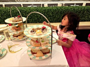 A great holiday tradition - a Princess holiday tea at Drury Lane Oak Brook.