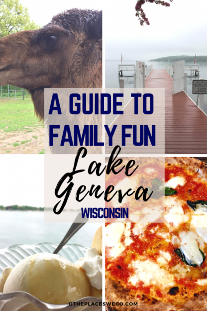 A guide to family fun in Lake Geneva, Wisconsin with ideas for things to do, where to eat, and where to stay.