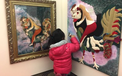 Chagall for Children at Arlington Heights Memorial Library